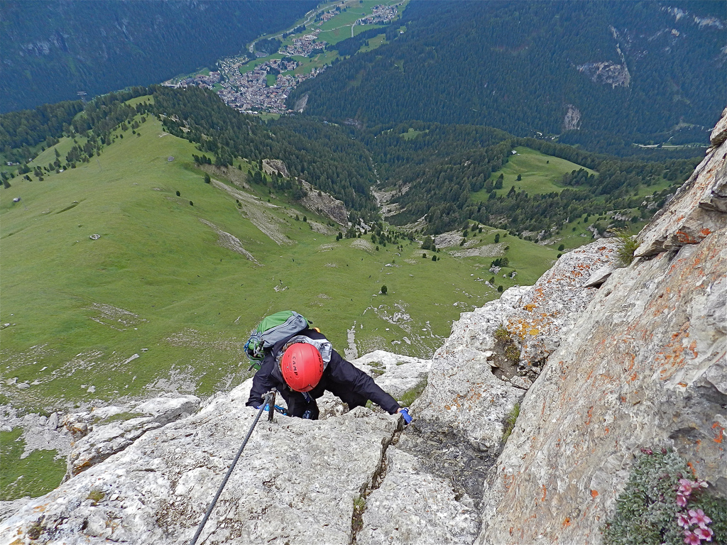 Guide to Italy rock climbing holidays: Best Italian crags Flickr image by nordique