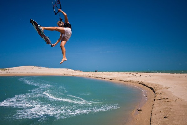 ilha do guajiru kitesurfing holidays image courtesy of Windy Addiction