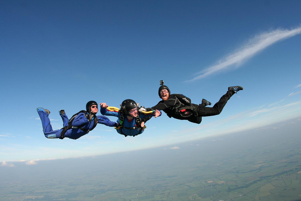Skydive worldwide with accelerated freefall course flickr image by Wales-Gibbons