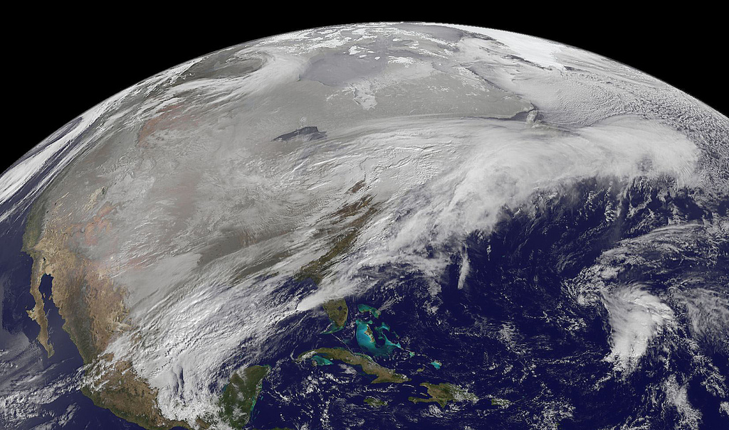 Too much snow flickr image by NASA Goddard