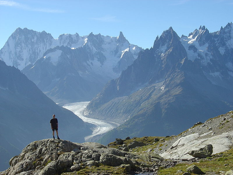 Great walking holidays in France wikimedia image by mtpaley