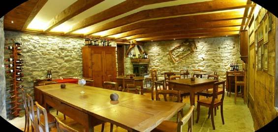Montagna di Luce restaurant in Alagna