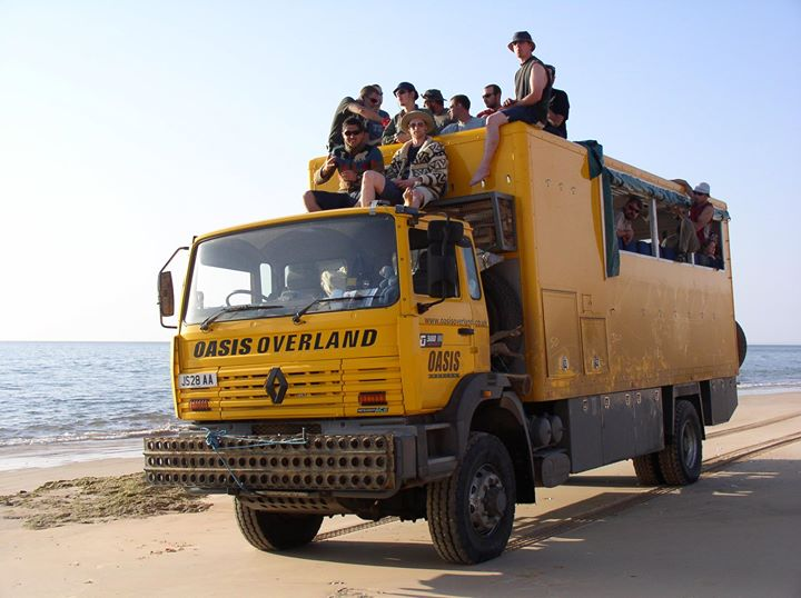 Action sport and adventure holiday late availability image courtesy of Oasis Overland