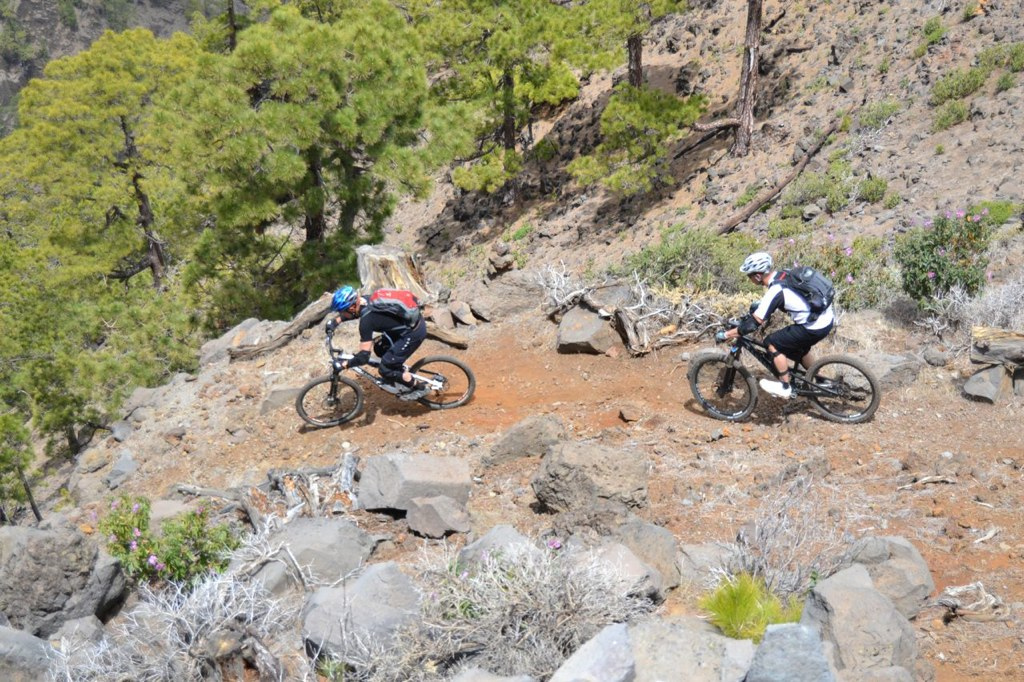 Where to go mountain biking in the Canary Islands image courtesy of Bike n Fun La Palma