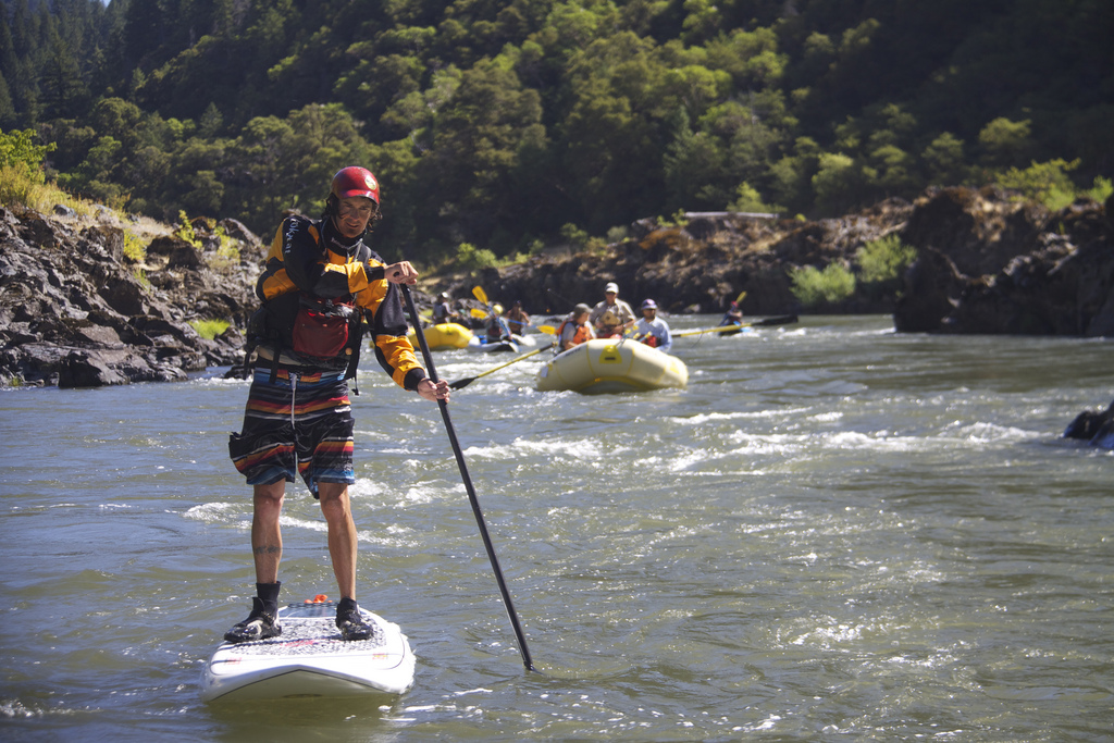 UK river SUP flickr image by Northwest Rafting Company