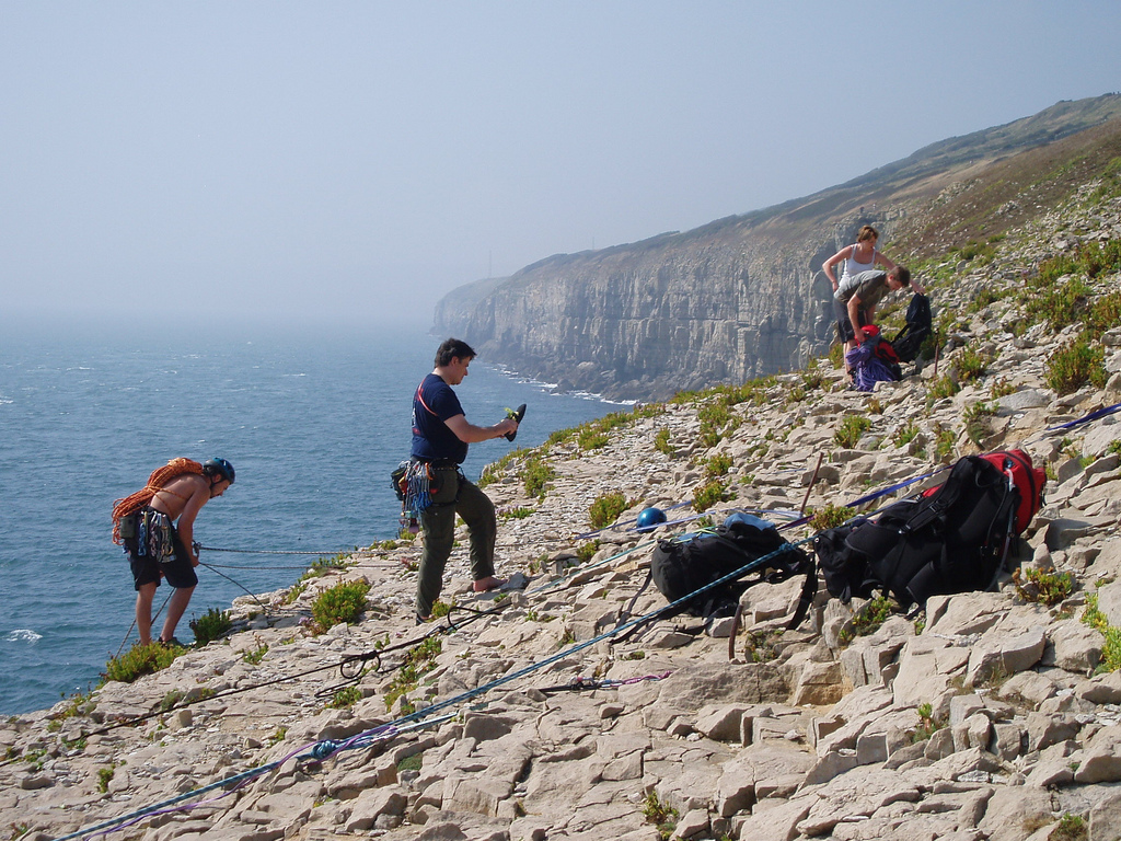 British rock climbing holidays in Swanage flickr image by Stephen Elson