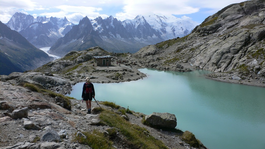 Best beginner treks Mont Blanc Circular Trek in the Alps Flickr image by Heather Cowper