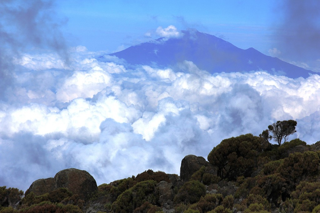 Mount Meru trek in Tanzania: Alternative to trekking Kilimanjaro flickr Image by Filip Lachowski