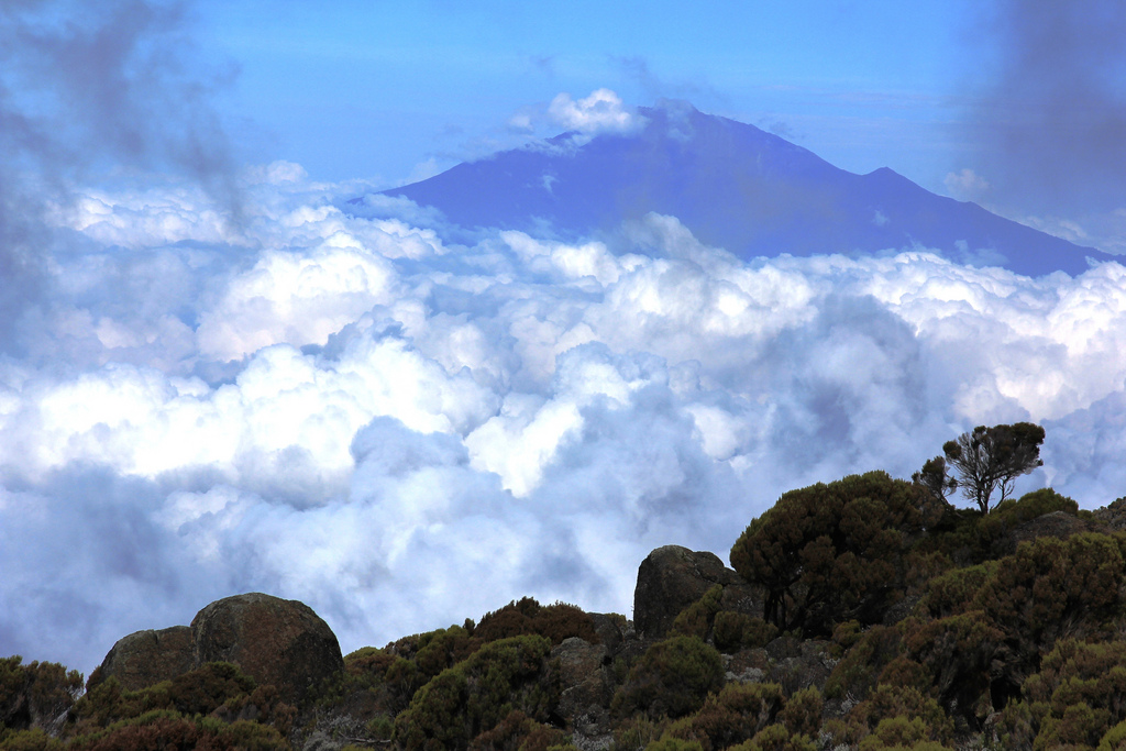 Best East Africa Trekking holidays, Mount Meru. flickr Image by Filip Lachowski