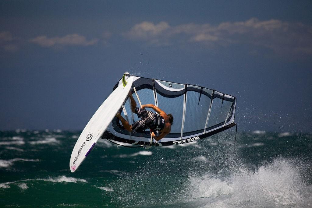 Head to Porto Polo Sardinia for some of the best winter windsurfing in Europe Wikimedia image by Eigen werk