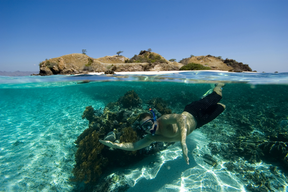 Snorkeling in the best Indonesia kayak destinations