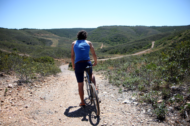 Mountain biking holiday in Carrapateira image by Tamsin Ross Van Lessen
