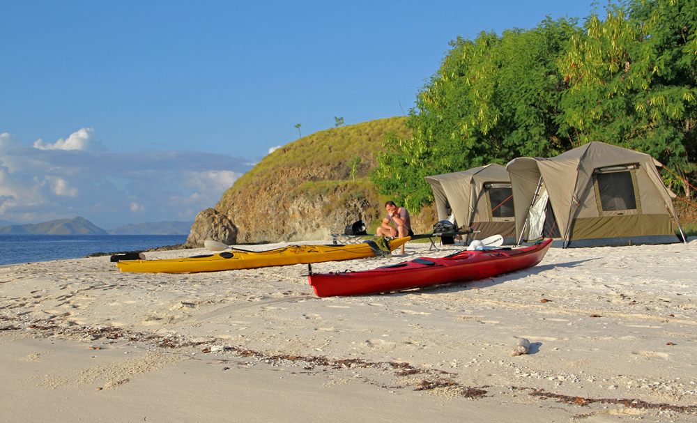 Kayak glamping one of the best Indonesia kayak destinations