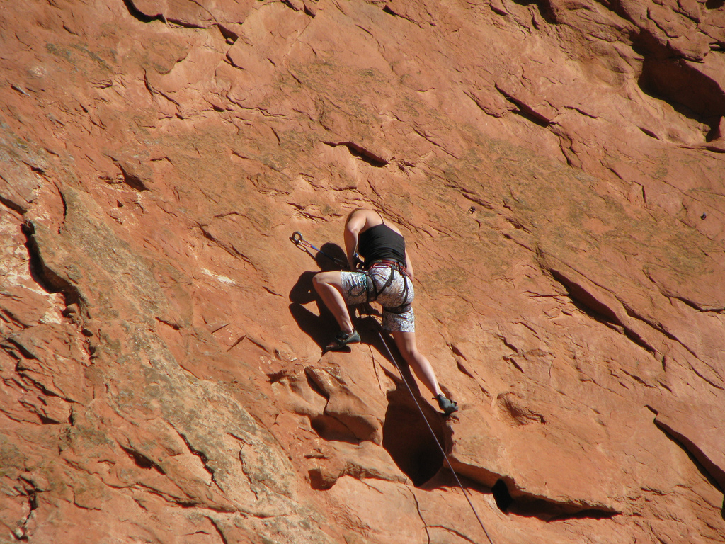Best climbing harness brands flickr image by Griffhome