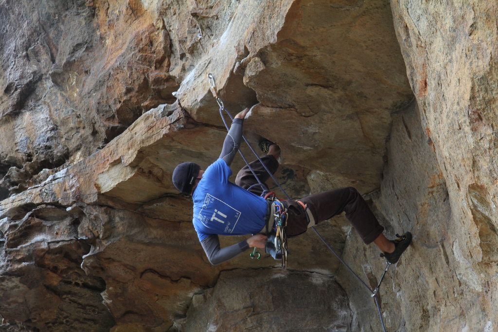 Best climbing harness brands flickr image by Magneza