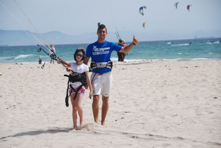 Learn to surf in Tarifa image by Dragon Kite School