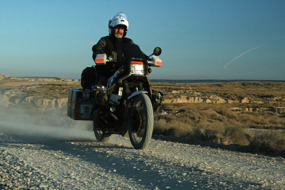 Motorcycle overlanding interview with Sam Manicom - Copyright Sam Manicom