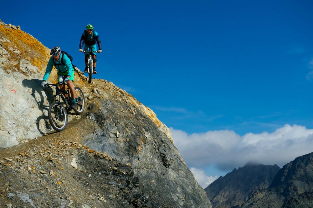 Guide to Austria mountain biking holidays: Best Austrian MTB Copyright Tourism Paznaun-Ischgl