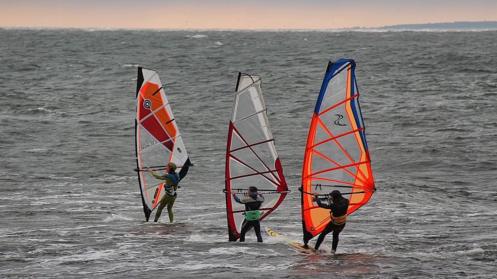 Windsurfing lakes in Europe flickr image by infomastern