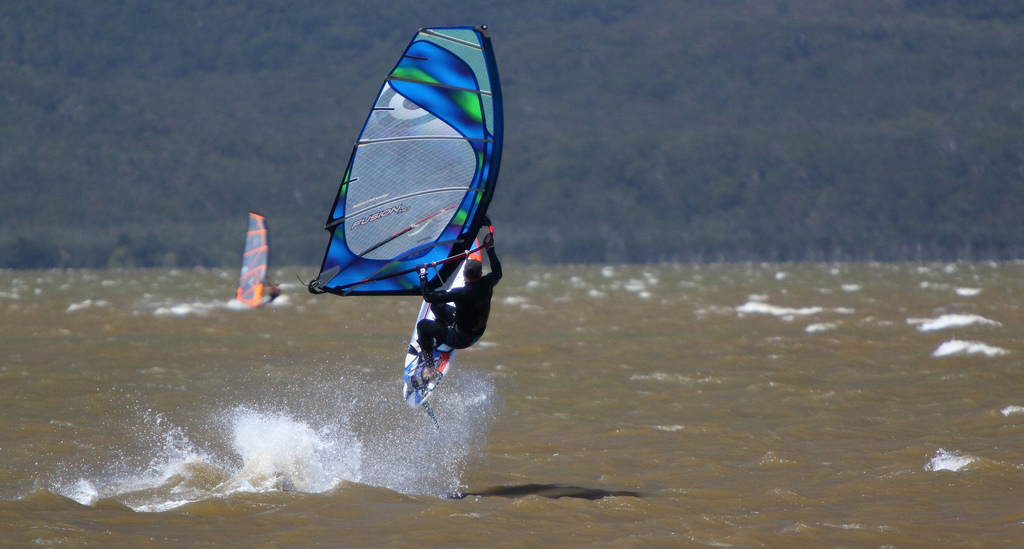 Windsurfing lakes in Europe flickr image by texaus1