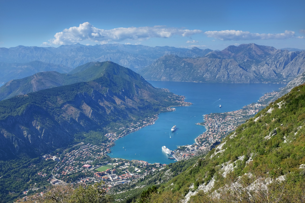 Bay of Kotor in Montenegro activity holidays: The future of adventure sports? flickr image by Amira_a