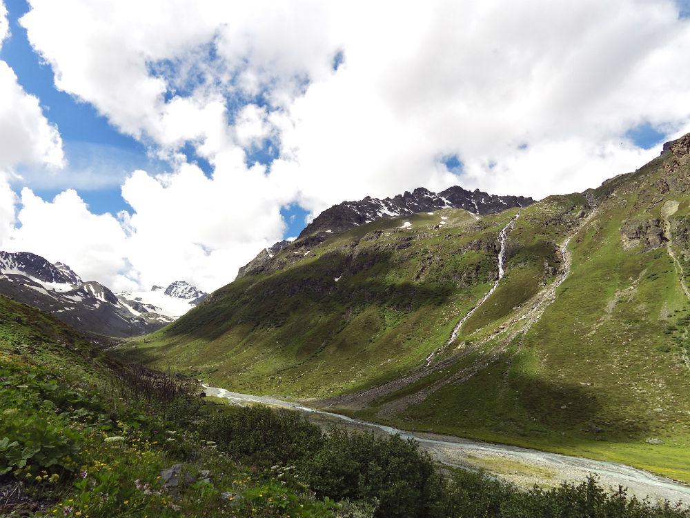 Ischgl trekking review. Jam Valley