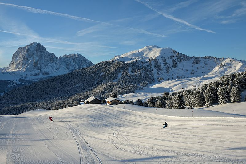 Best ski resort improvements Wikimedia image by Wolfgang Moroder