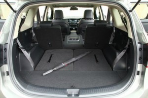 Flexible seating for driving a Kia Carens across France @Copyright Kia Motors (UK) Ltd