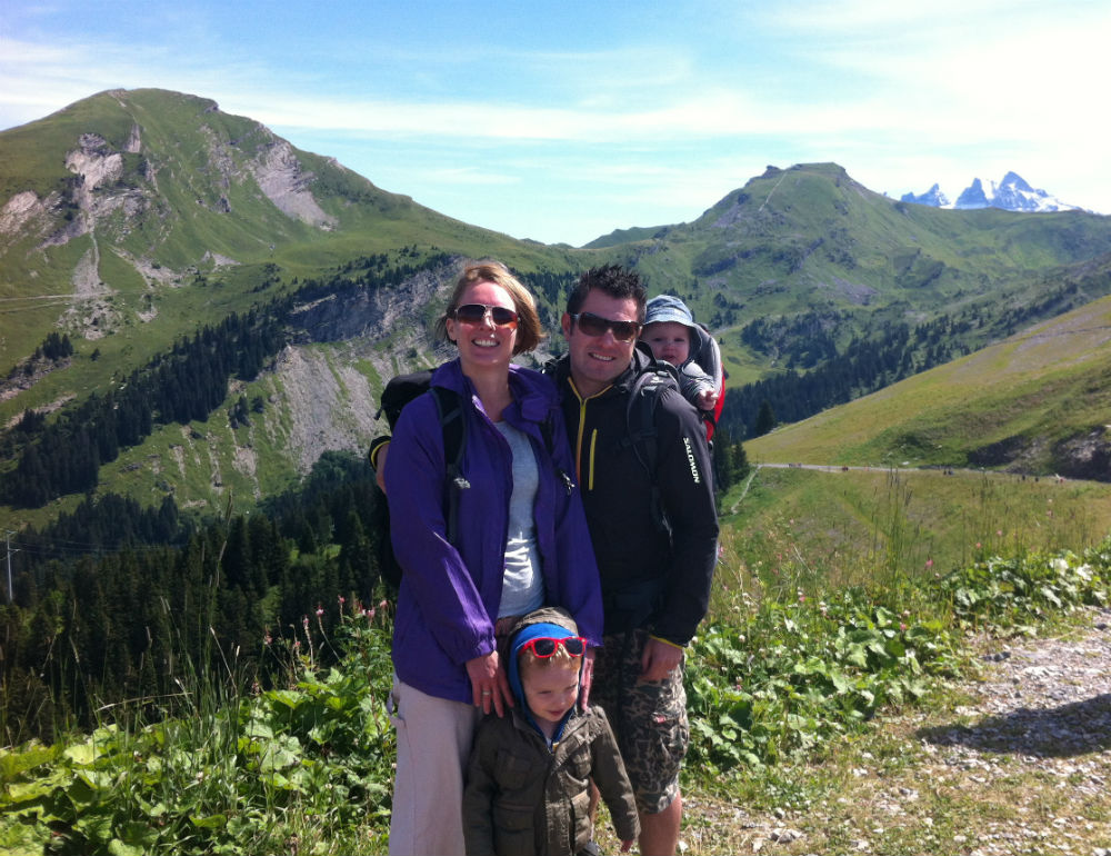 French Alps family holiday
