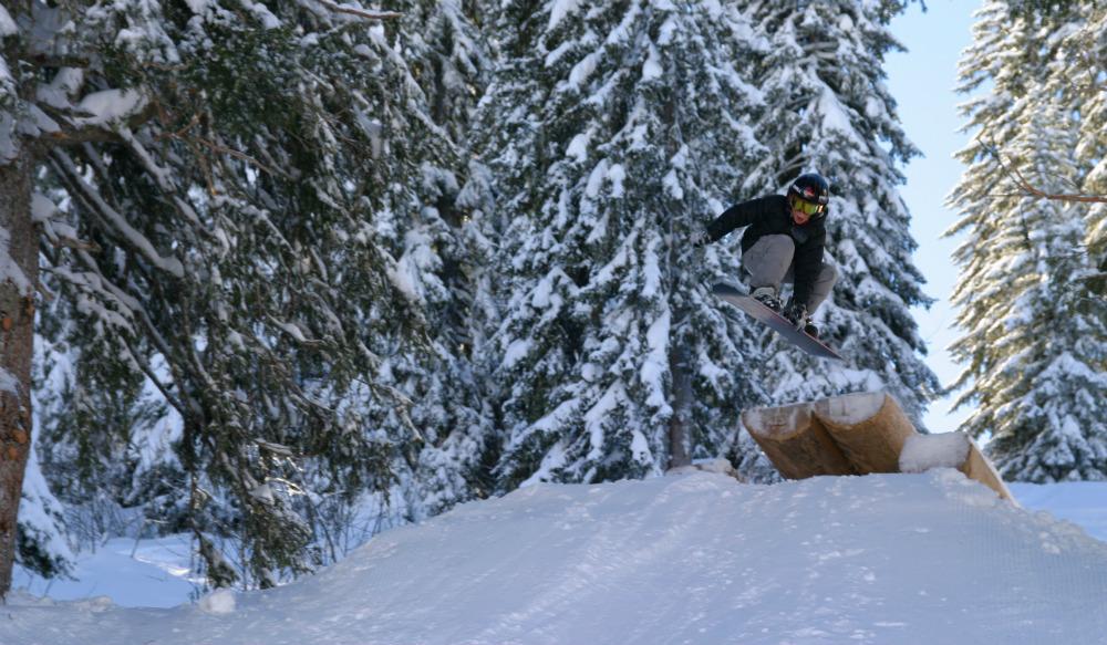 The Stash. Best ski run in the world. © Avoriaz Touisme
