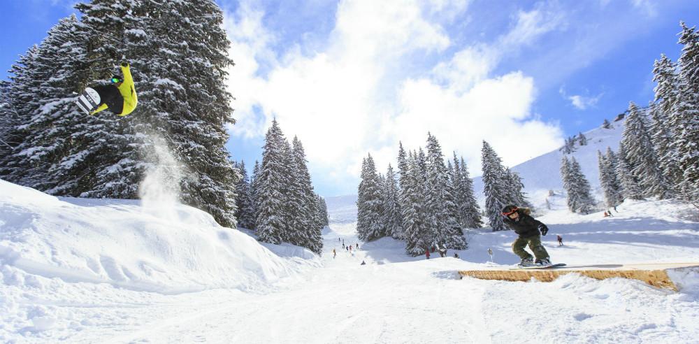 The Stash. Best ski run in the world. © Pascal Gombert Avoriaz Touisme