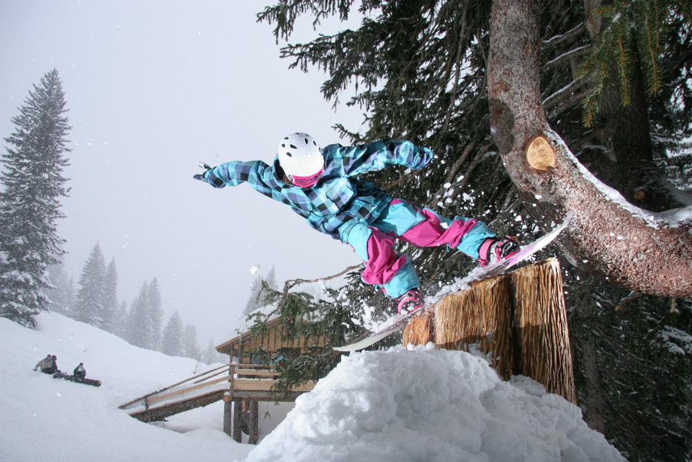 The Stash. Best ski run in the world. © James North - Avoriaz Touisme