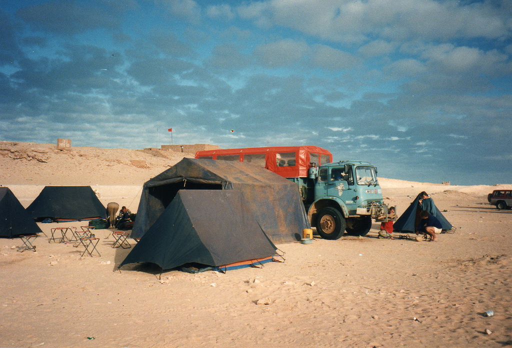 Top 10 tips for planning overland camping holidays flickr image by David Holt