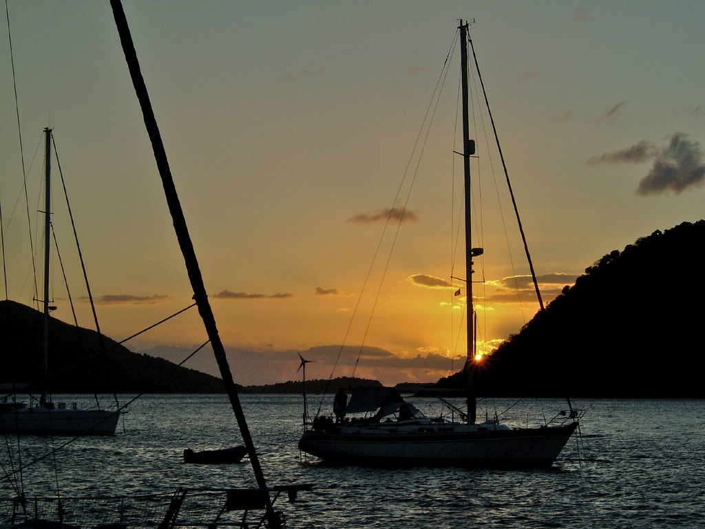 learn to sail in the Caribbean flickr image by Cowbell Solo