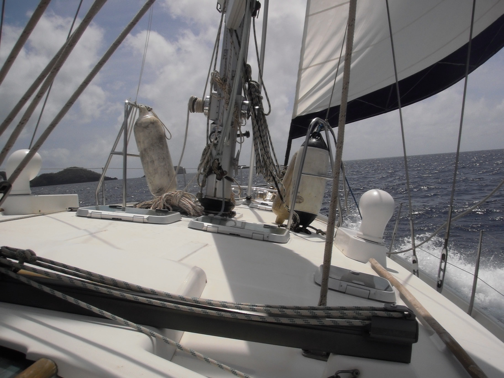 Learn to sail in the Caribbean flickr image by Meg Stewart