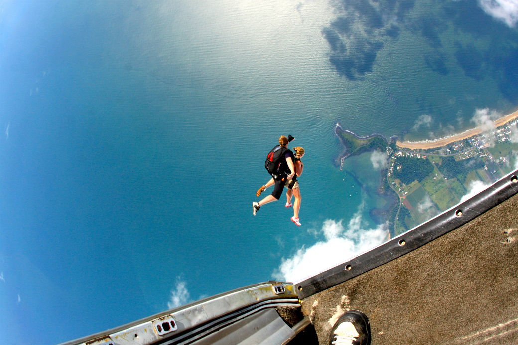 Best tandem skydive in Australia flickr image by IG inK