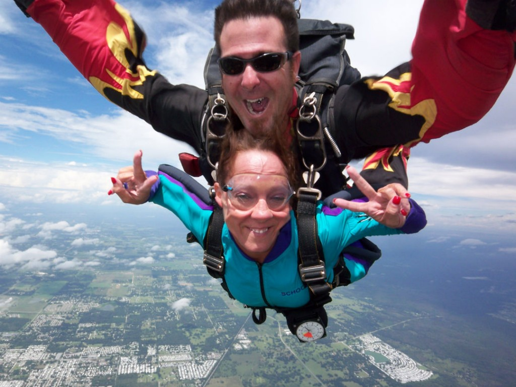 Skydive one of the best New York adventure activities Image courtesy of Long Island Skydiving Center