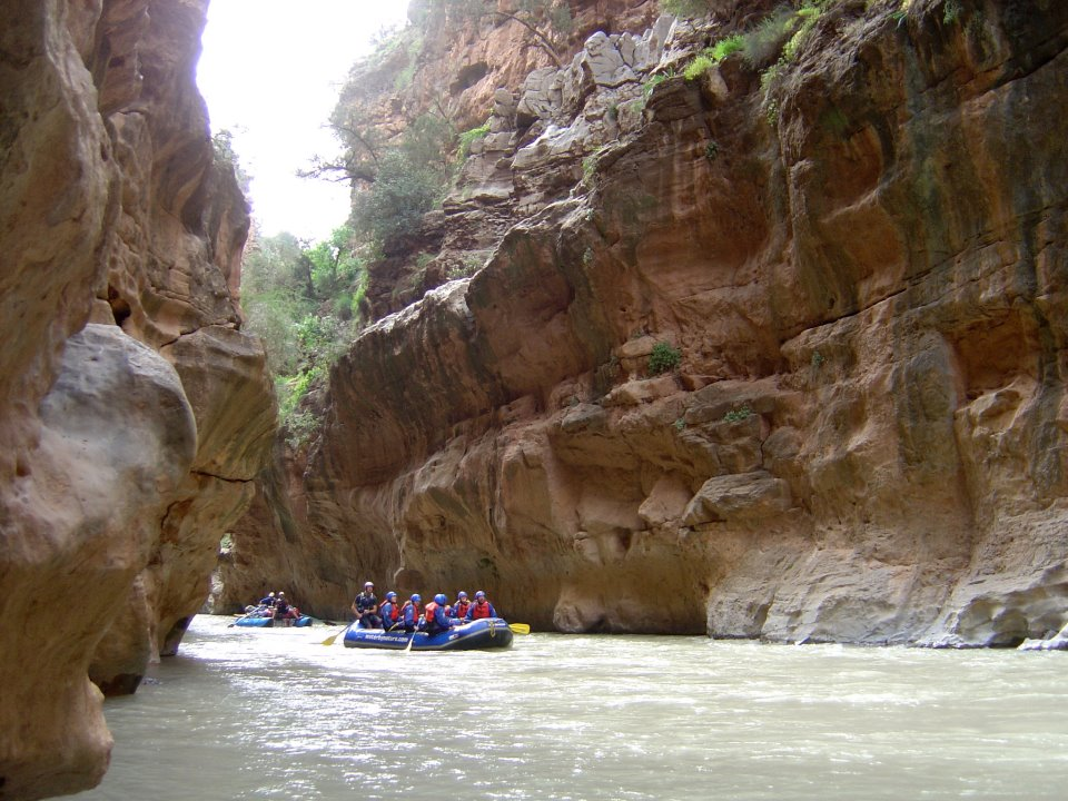 Morocco Rafting Image courtesy of AdventureX