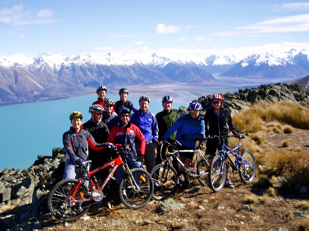 Best mountain biking trails in New Zealand flickr image by Mountain Bike Mt Cook