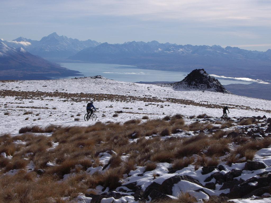 Best mountain biking trails in New Zealand flickr imge by Mountain Bike Mt Cook