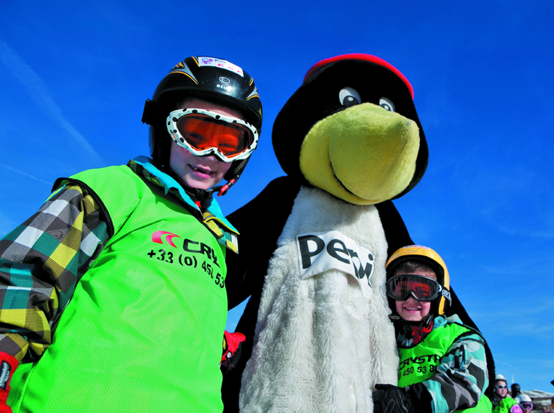 Baby on a ski holiday: Review of the Pepi Penguin Club