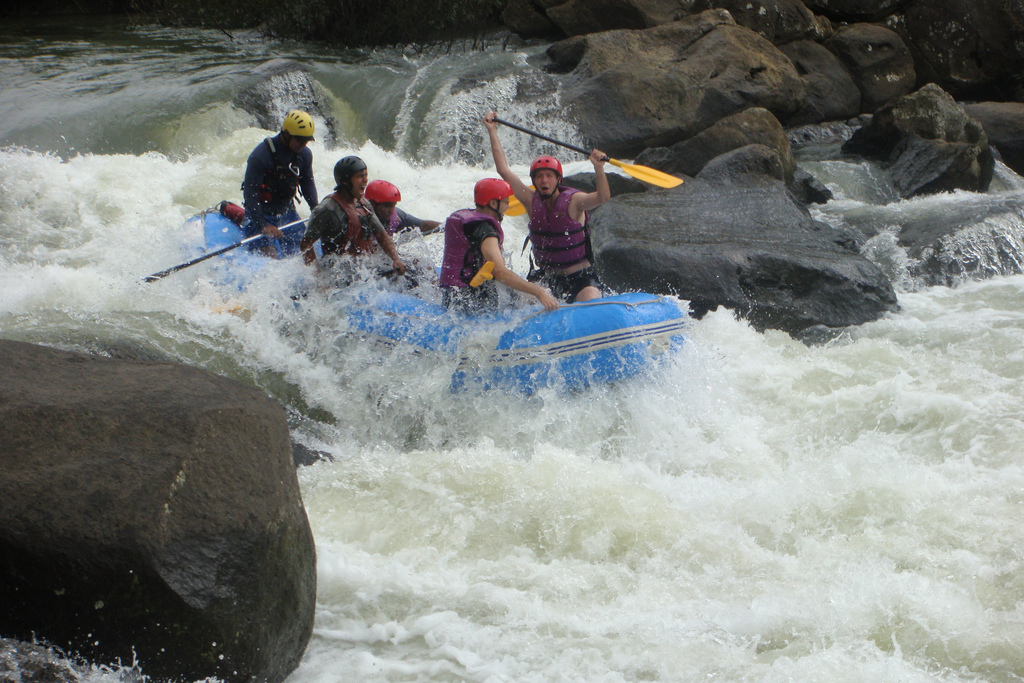 Guide to India rafting holidays. Flickr image by Philip Larson