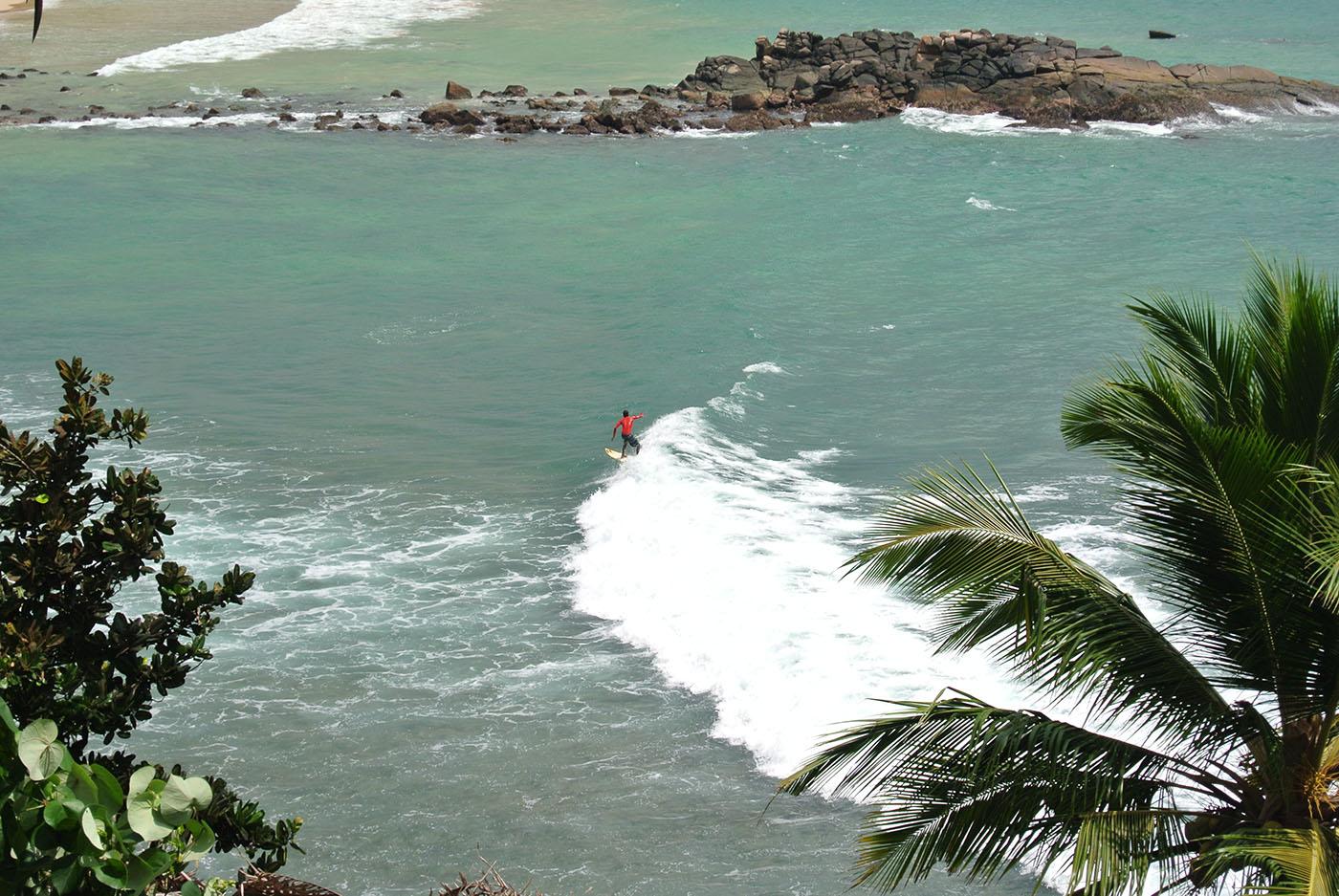 Sri Lanka surfing holiday