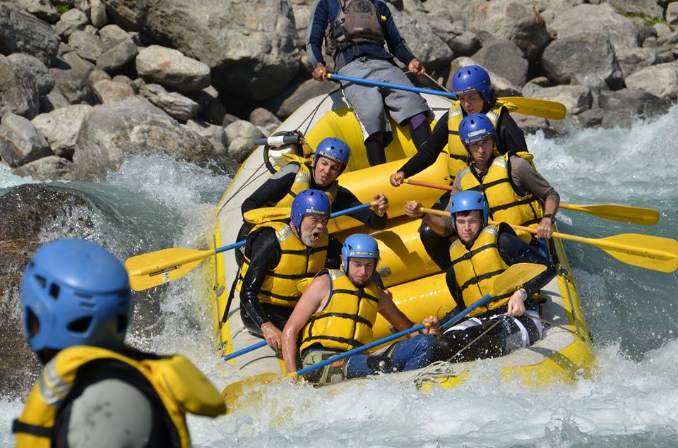 Adrenaline Rush Nepal Discount: 12% off Rafting