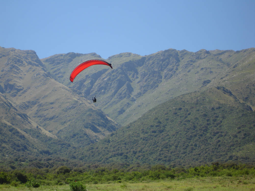 Flight Culture discount Paragliding in Merlo Argentina