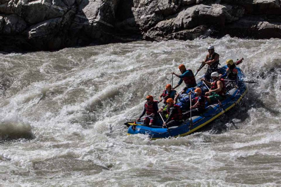 grg's adventure kayaking discount rafting in Nepal
