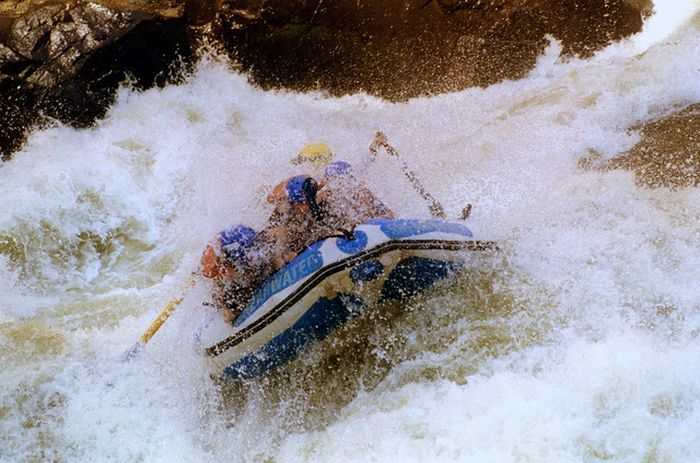 Guide to Zambia rafting holidays on the Zambezi River Flickr image by Carine06