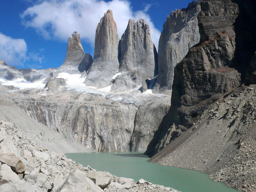 Torres del Paine in Patagonia Argentina Flickr image by John Spooner