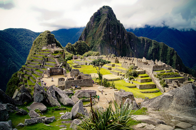 Machu Picchu in Peru Flickr CC image by Maria Grazia Montagnari