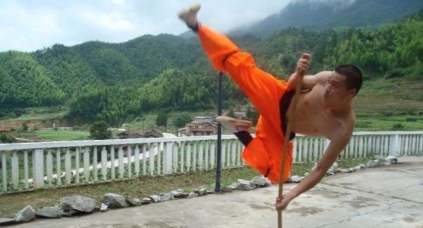 Learn Kung fun in China with Rising Dragon martial arts training camp 3